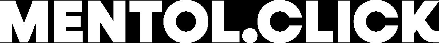 mentol.click logo biale
