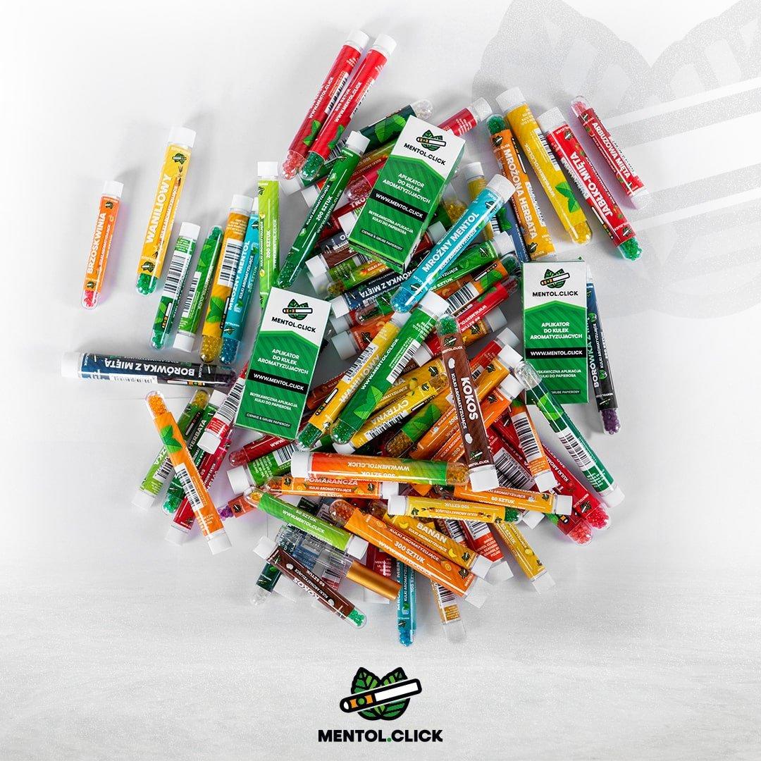 Mentol.Click - Kulki smakowe do papierosów dostępne już od 5,99 PLN.